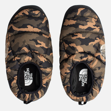 Мужские тапочки The North Face Nuptse Tent Mules III Olive/TNF Black фото- 4