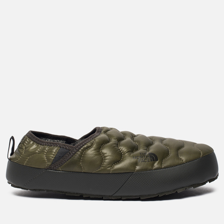 Мужские тапочки The North Face Thermoball Traction Mule IV Shiny Burnt Olive Green