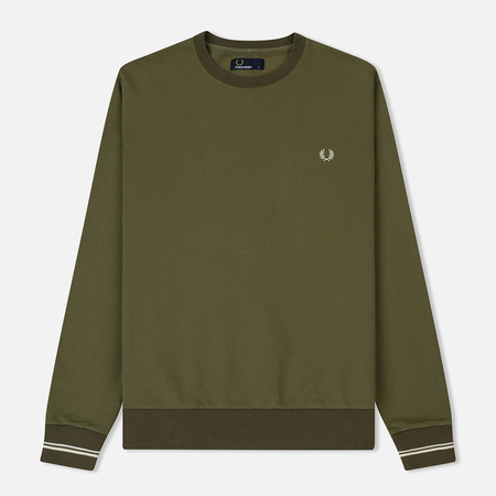 Мужская толстовка Fred Perry Crew Neck Dusty Olive