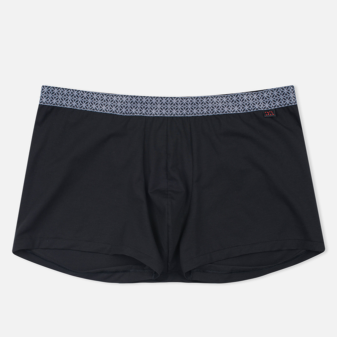 Derek Rose Band 24 Pima Cotton Men's Boxer Black
