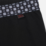Мужские трусы Derek Rose Band 30 Pima Cotton Stretch Black фото- 1