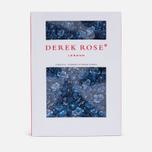 Мужские трусы Derek Rose Brindisi 11 Modern Fir Boxer Blue фото- 4