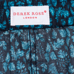Мужские трусы Derek Rose Damask 8 Modern Fit Boxer Teal фото- 1