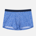 Derek Rose Ditsy Pima Cotton Men's Boxer Cobalt photo- 0