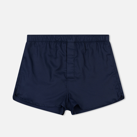 Мужские трусы Derek Rose Lombard 6 Modern Fit Boxer Navy