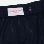 Мужские трусы Derek Rose Nelson 59 Modern Fit Boxer Navy фото- 3