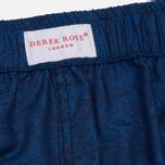 Мужские трусы Derek Rose Paris 11 Modern Fit Boxer Navy фото- 3
