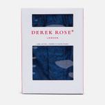 Мужские трусы Derek Rose Paris 11 Modern Fit Boxer Navy фото- 4
