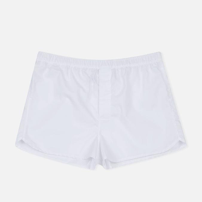 Мужские трусы Derek Rose Savoy Modern Fit Boxer White