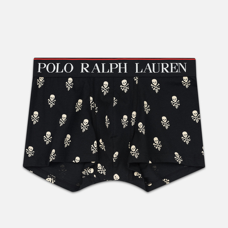 Мужские трусы Polo Ralph Lauren Single Print Trunk Black/All Over Skulls