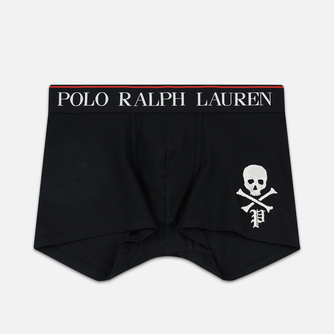 Мужские трусы Polo Ralph Lauren Single Solid Trunk Black
