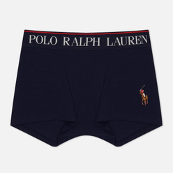 Мужские трусы Polo Ralph Lauren Single Trunk Embroidered Pony Player Cruise Navy/Multicolor Pony Player