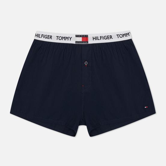 Мужские трусы Tommy Hilfiger Underwear Logo Waistband Pure Cotton Boxer Navy Blazer
