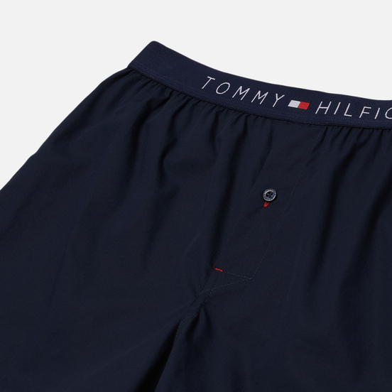 Мужские трусы Tommy Hilfiger Underwear Smart Cotton Poplin Boxers Navy Blazer