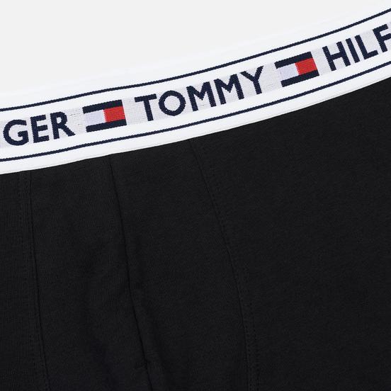 Мужские трусы Tommy Hilfiger Underwear Tommy Hilfiger Waistband Trunk Black