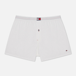 Мужские трусы Tommy Hilfiger Underwear Woven Cotton Blend White
