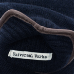 Мужские варежки Universal Works Knitted Wool Navy фото- 2