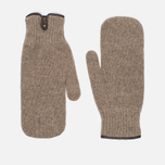 Мужские варежки Universal Works Knitted Wool Sand фото- 0