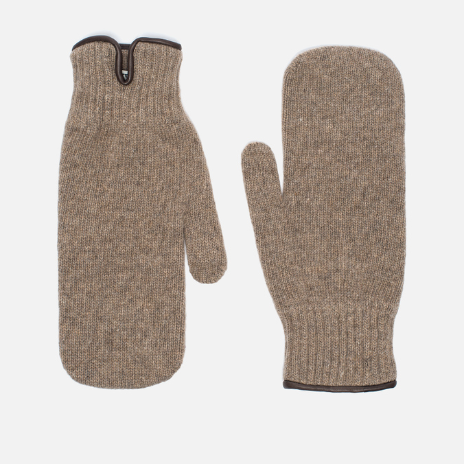 Мужские варежки Universal Works Knitted Wool Sand