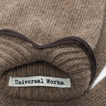 Мужские варежки Universal Works Knitted Wool Sand фото- 2