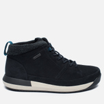 Мужские зимние ботинки Clarks Originals Johto Hi Gore-Tex Nubuck Dark Blue фото- 0