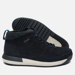 Мужские зимние ботинки Clarks Originals Johto Hi Gore-Tex Nubuck Dark Blue фото- 1