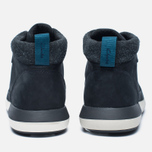 Мужские зимние ботинки Clarks Originals Johto Hi Gore-Tex Nubuck Dark Blue фото- 5