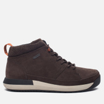 Мужские зимние ботинки Clarks Originals Johto Hi Gore-Tex Nubuck Dark Brown фото- 0