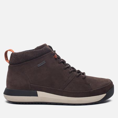 Мужские зимние ботинки Clarks Originals Johto Hi Gore-Tex Nubuck Dark Brown