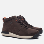 Мужские зимние ботинки Clarks Originals Johto Hi Gore-Tex Nubuck Dark Brown фото- 2