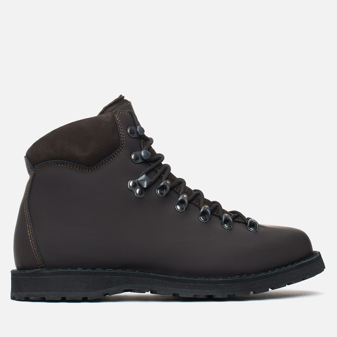 Зимние ботинки Diemme Roccia Vet Rubberized Leather Dark Brown