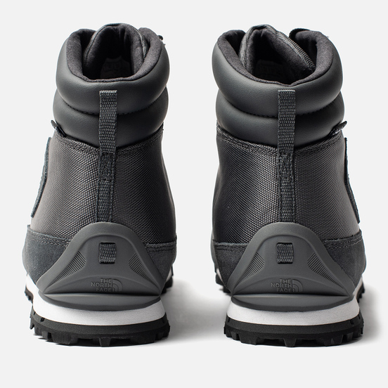 Мужские зимние ботинки The North Face Back To Berkeley NL Dark Shadow Grey/TNF Black