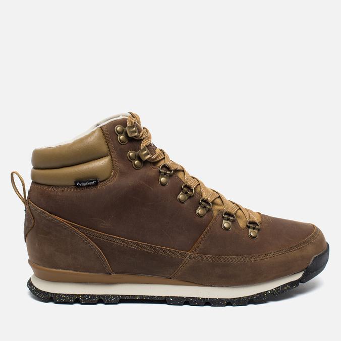 Мужские зимние ботинки The North Face Back To Berkeley Redux Leather Dijon Brown/Vintage White