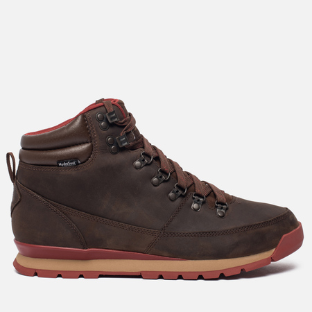 Мужские зимние ботинки The North Face Back To Berkeley Redux Leather Carafe Brown/Ketchup Red