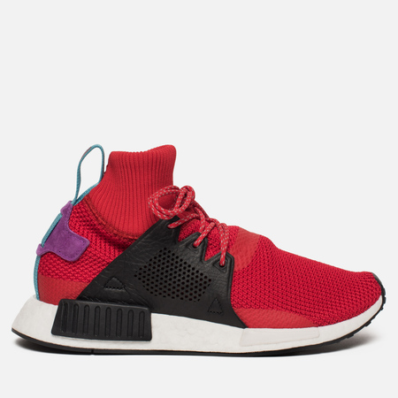 Мужские зимние кроссовки adidas Originals NMD XR1 Winter Scarlet/Core Black/Shock Purple