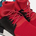 Мужские зимние кроссовки adidas Originals NMD XR1 Winter Scarlet/Core Black/Shock Purple фото- 3