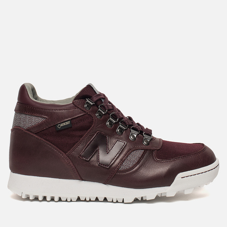 Мужские зимние кроссовки New Balance HLRAINCC Gore-Tex Chocolate Cherry/Apollo Grey