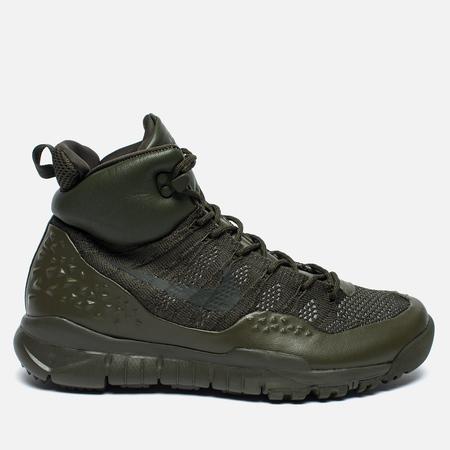 Мужские зимние кроссовки Nike ACG Lupinek Flyknit Cargo Khaki/Sequoia