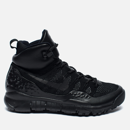 Мужские зимние кроссовки Nike ACG Lupinek Flyknit Triple Black
