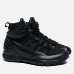 Мужские зимние кроссовки Nike ACG Lupinek Flyknit Triple Black фото- 2