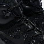 Мужские зимние кроссовки Nike ACG Lupinek Flyknit Triple Black фото- 3