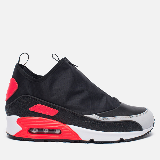 Мужские зимние кроссовки Nike Air Max 90 Utility Black/Cool Grey/Neutral Grey/Infrared