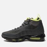Мужские зимние кроссовки Nike Air Max 95 Sneakerboot Anthracite/Volt/Dark Grey/Black фото- 1