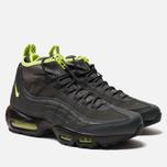 Мужские зимние кроссовки Nike Air Max 95 Sneakerboot Anthracite/Volt/Dark Grey/Black фото- 2