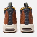 Мужские зимние кроссовки Nike Air Max 95 Sneakerboot Dark Russet/Thunder Blue/Light Bone фото- 3