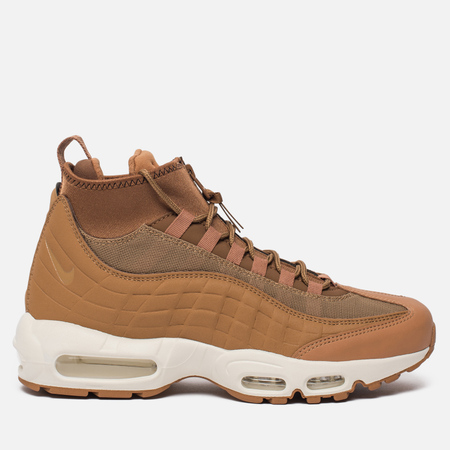 Мужские зимние кроссовки Nike Air Max 95 Sneakerboot Flax/Ale Brown/Sail