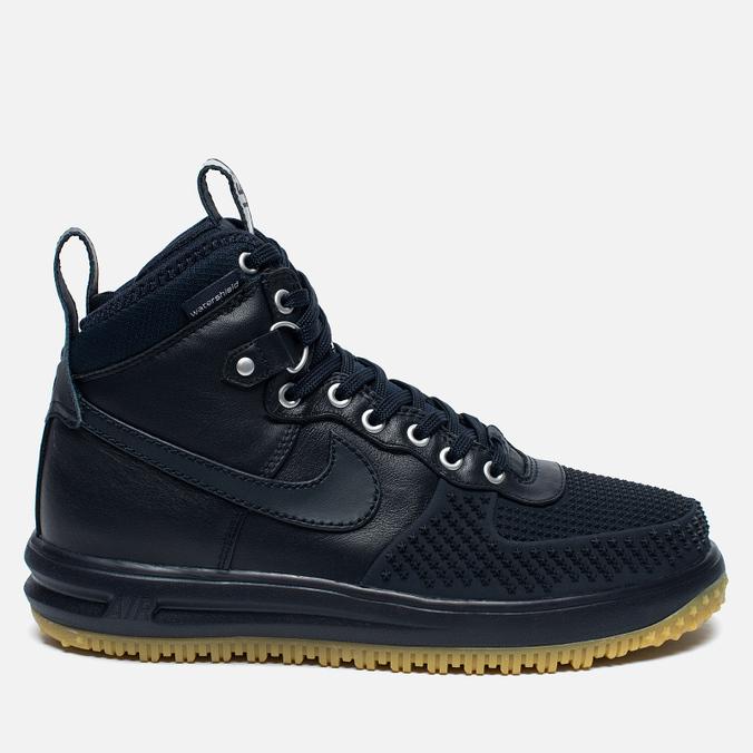 Мужские зимние кроссовки Nike Lunar Force 1 Duckboot Dark Obsidian