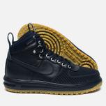 Мужские зимние кроссовки Nike Lunar Force 1 Duckboot Dark Obsidian фото- 1