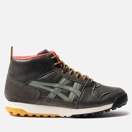 Мужские зимние кроссовки Onitsuka Tiger Winterized Dark Sepia/Burnt Olive