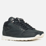 Зимние кроссовки Reebok Classic Leather Mid Gore-Tex Black/Paper White/Olive/Shark фото- 1
